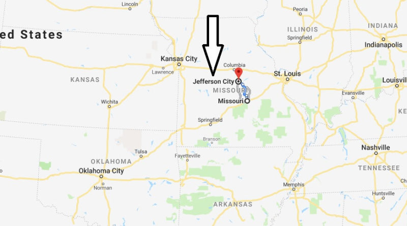 Where is Jefferson City, Missouri? What County is Jefferson City? Jefferson City Map Located