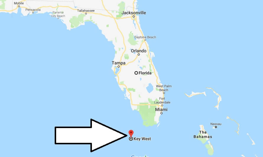 Where is Key West, Florida? What County is Key West? Key West Map Located
