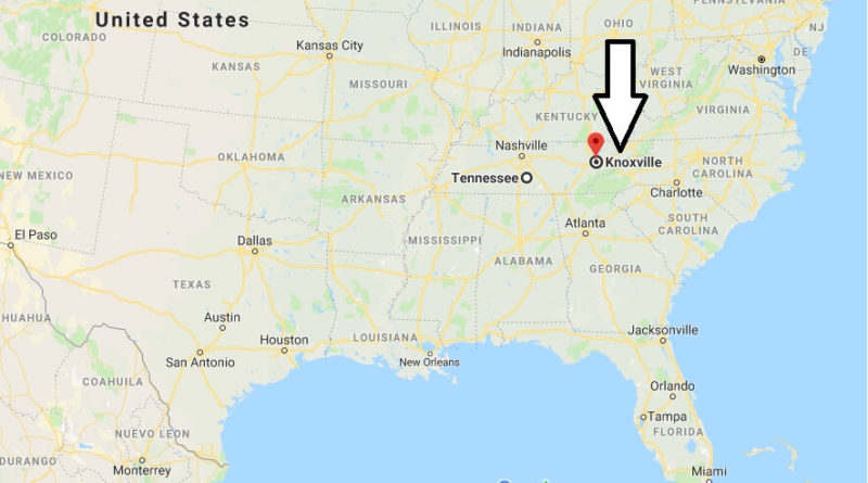 Where is Knoxville, Tennessee? What County is Knoxville? Knoxville Map Located