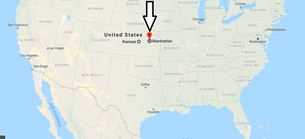 Where is Manhattan, Kansas? What County is Manhattan? Manhattan Map Located