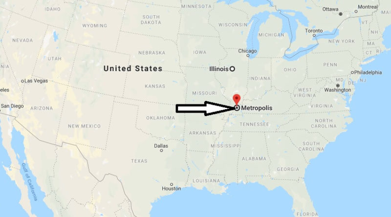 Where is Metropolis, Illinois? What County is Metropolis? Metropolis Map Located