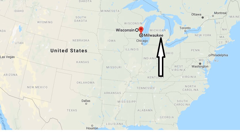 Where is Milwaukee, Wisconsin? What County is Milwaukee? Milwaukee Map Located