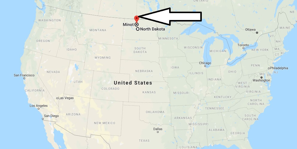 Where is Minot, North Dakota? What County is Minot? Minot Map Located