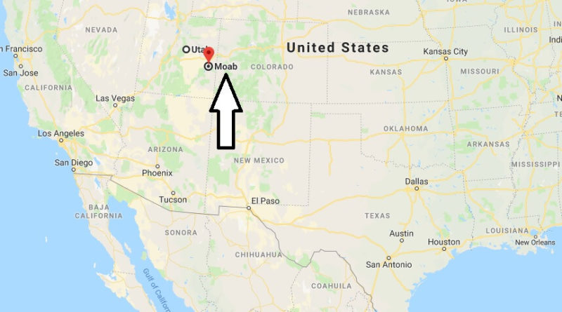 Where is Moab, Utah? What County is Moab? Moab Map Located