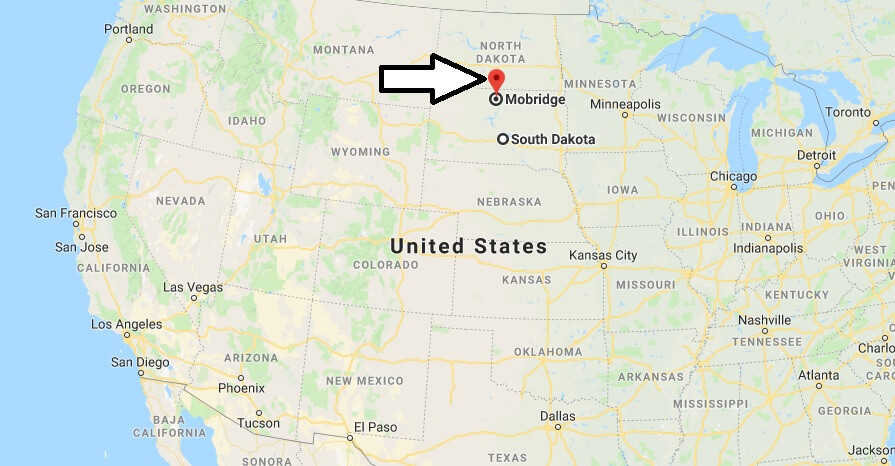 Where is Mobridge, South Dakota? What County is Mobridge? Mobridge Map Located