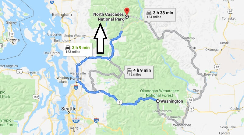 Where is North Cascades National Park? What city is North Cascades? How do I get to North Cascades
