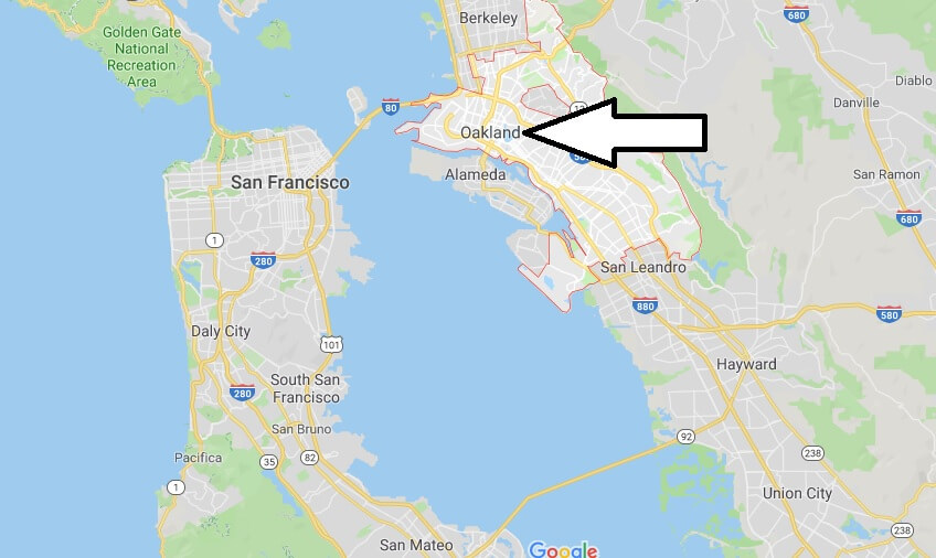 Where is Oakland? What Country is Oakland in? Oakland Map Located