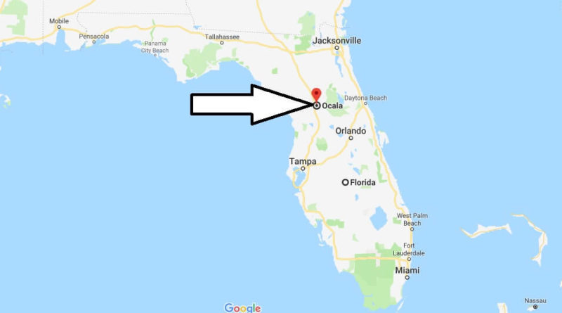 Where is Ocala, Florida? What County is Ocala? Ocala Map Located