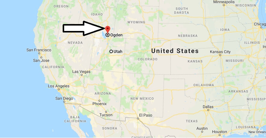 Where is Ogden, Utah? What County is Ogden? Ogden Map Located