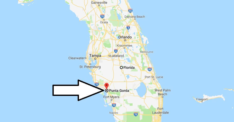 Where is Punta Gorda, Florida? What County is Punta Gorda? Punta Gorda Map Located