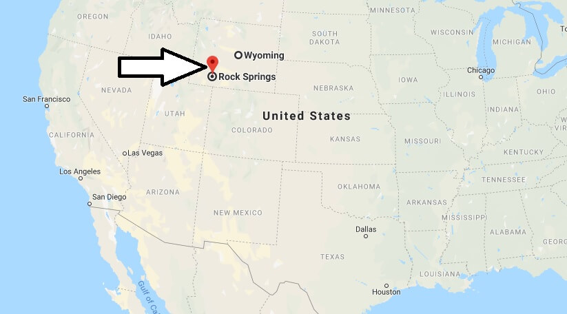 Where is Rock Springs, Wyoming? What County is Rock Springs? Rock Springs Map Located