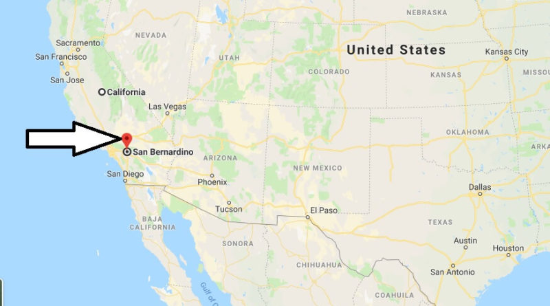 Where is San Bernardino, California? What County is San Bernardino? San Bernardino Map Located