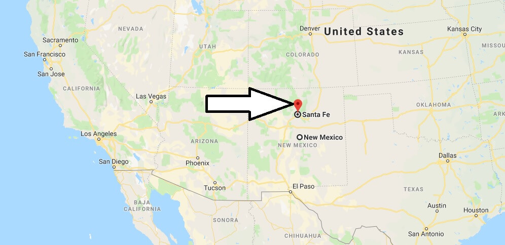 Where is Santa Fe, New Mexico? What County is Santa Fe? Santa Fe Map Located