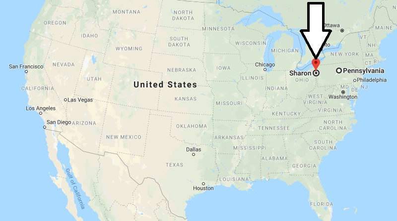 Where is Sharon, Pennsylvania? What County is Sharon? Sharon Map Located
