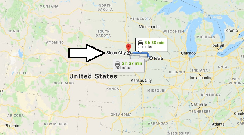 Where is Sioux City, Iowa? What County is Sioux City? Sioux City Map Located