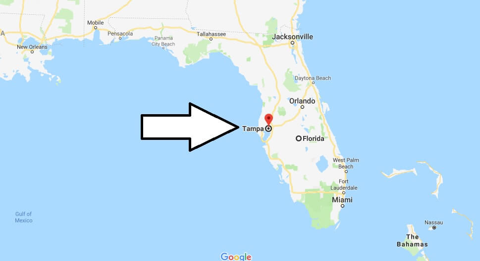 Where is Tampa, Florida? What County is Tampa? Tampa Map Located