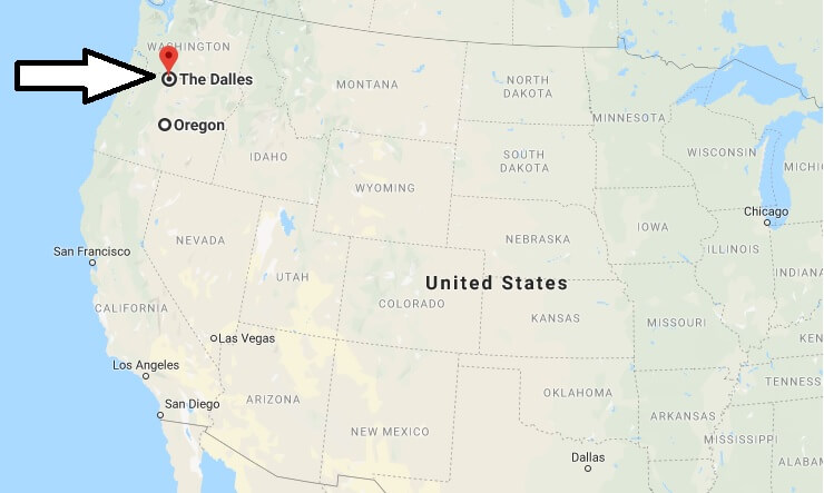Where is The Dalles, Oregon? What County is The Dalles? The Dalles Map Located