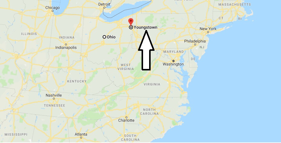 Where is Youngstown, Ohio? What County is Youngstown? Youngstown Map Located