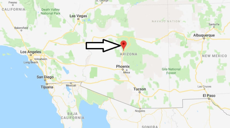 Where does Interstate 17 start and end?