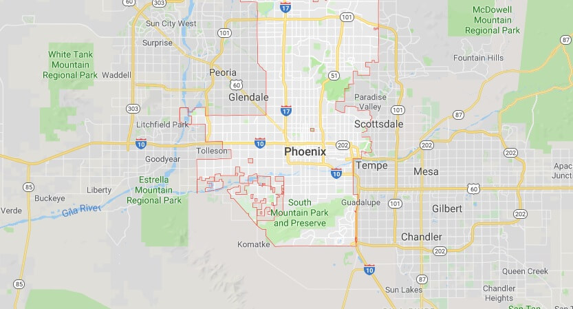 Is phoenix code what area The Biltmore