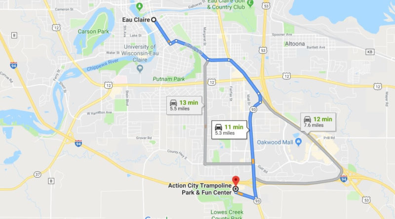 Where is Action City Trampoline Park & Fun Center Located Prices, Hours, Map