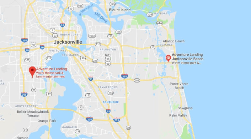 Where is Adventure Landing Jacksonville Located Prices,Tickets, Hours, Map