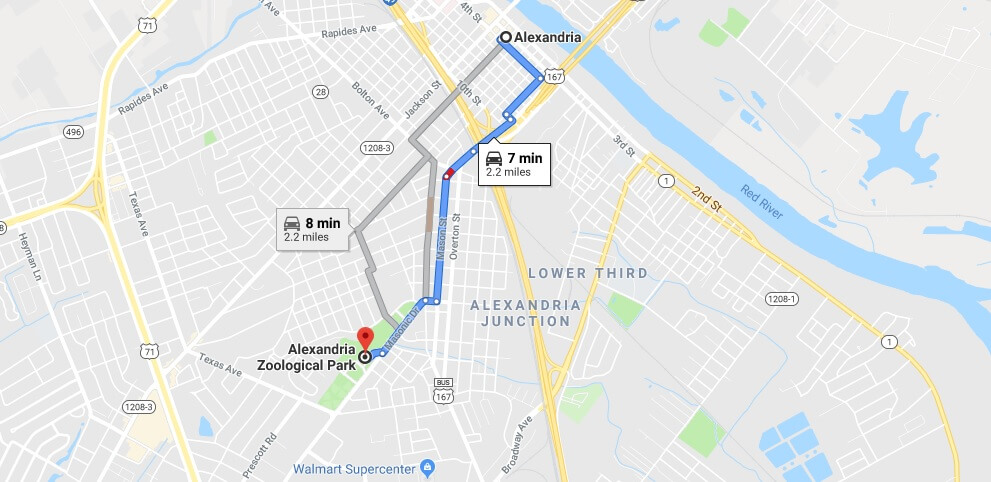 Where is Alexandria Zoological Park Located Prices,Tickets, Hours, Map