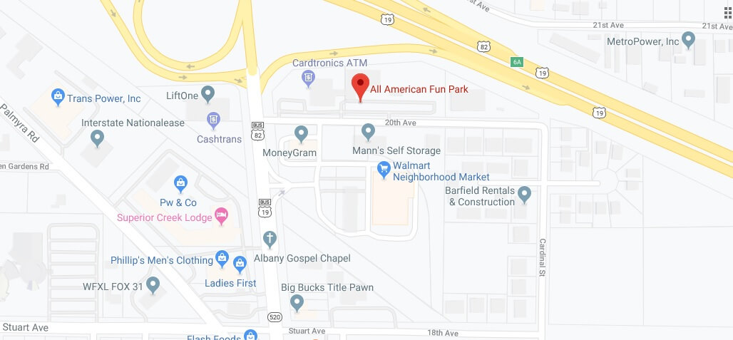 Where is All American Fun Park Located Prices,Tickets, Hours, Map