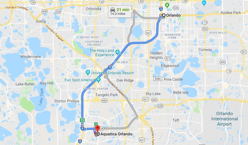 Where is Aquatica Orlando Located Prices, Hours, Map