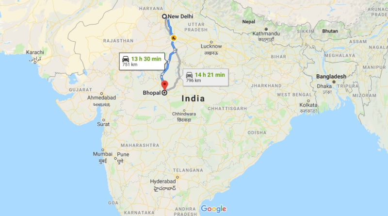 Where is Bhopal Located? What Country is Bhopal in? Bhopal Map