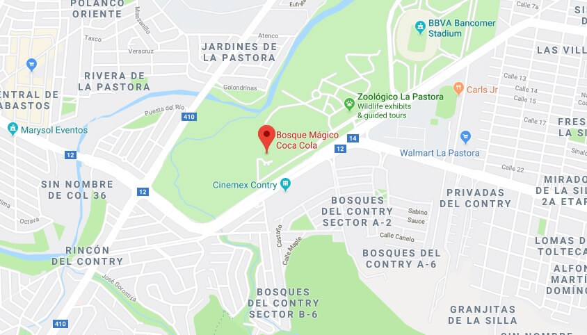 Where is Bosque Mágico Coca Cola Located Prices,Tickets, Hours, Map