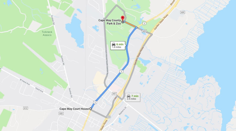 Where is Cape May County Park & Zoo Located Prices,Tickets, Hours, Map