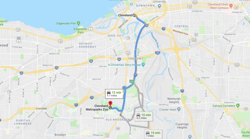 Where is Cleveland Metroparks Zoo Located Prices,Tickets, Hours, Map