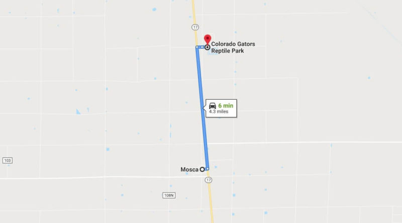 Where is Colorado Gators Reptile Park Located Prices,Tickets, Hours, Map