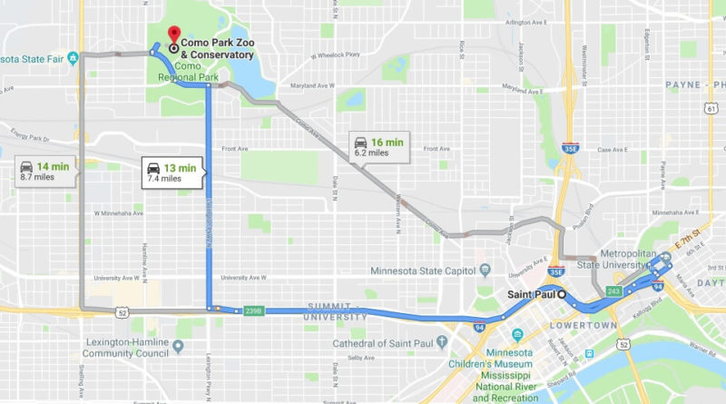 Where is Como Park Zoo & Conservatory Located Prices,Tickets, Hours, Map