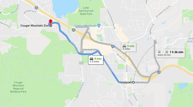 Where is Cougar Mountain Zoo Located Prices,Tickets, Hours, Map