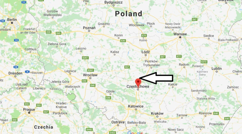 Where is Czestochowa Located? What Country is Czestochowa in? Czestochowa Map