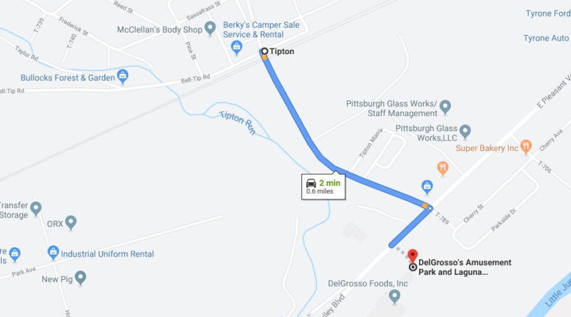 Where is DelGrosso's Amusement Park and Laguna Splash Water Park Located Prices,Tickets, Hours, Map