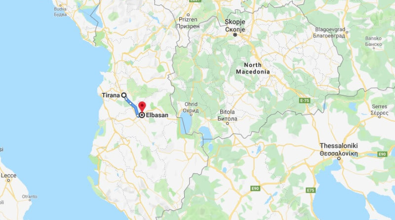 Where is Elbasan Located? What Country is Elbasan in? Elbasan Map