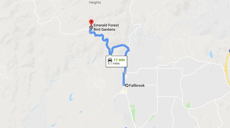 Where is Emerald Forest Bird Gardens Located Prices,Tickets, Hours, Map