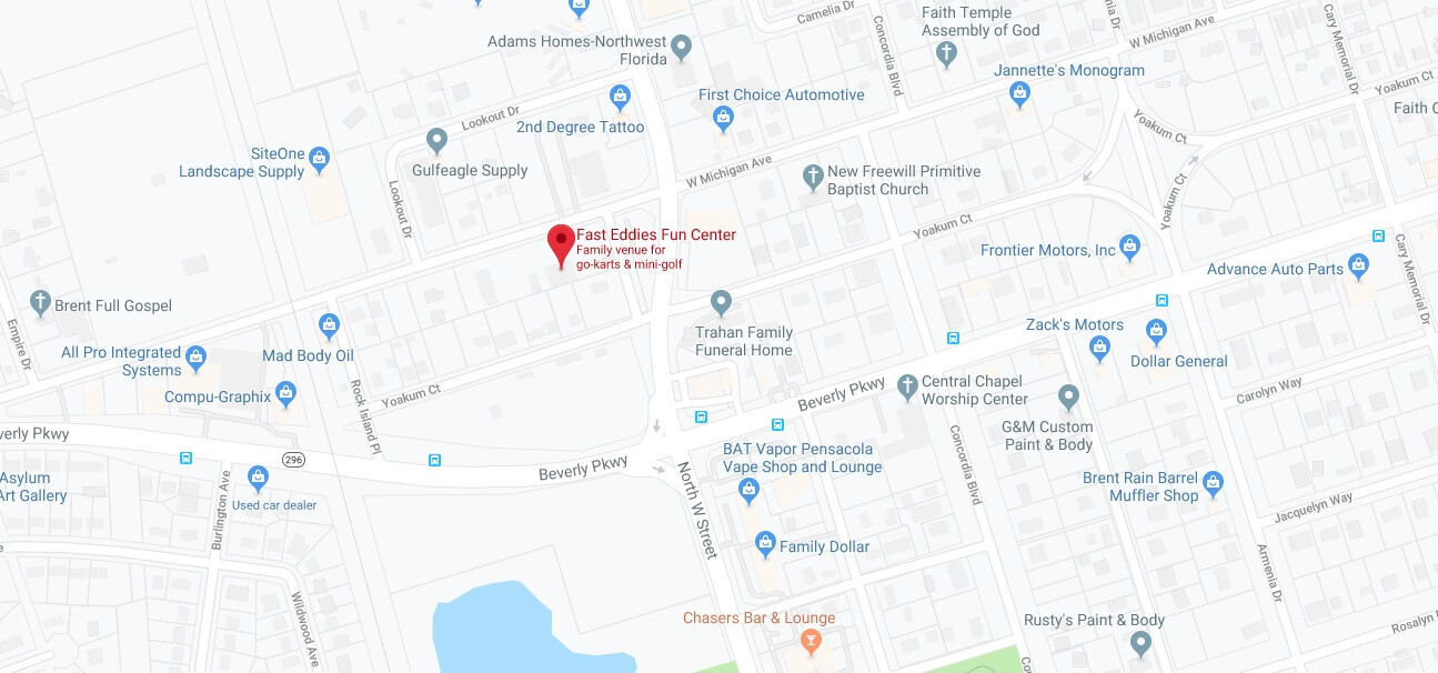 Where is Fast Eddies Fun Center Located Prices,Tickets, Hours, Map