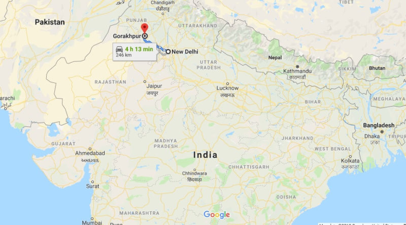Where is Gorakhpur Located? What Country is Gorakhpur in? Gorakhpur Map