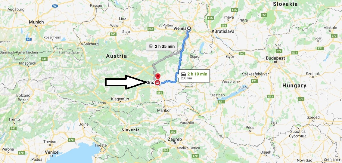 Where is Graz Located? What Country is Graz in? Graz Map