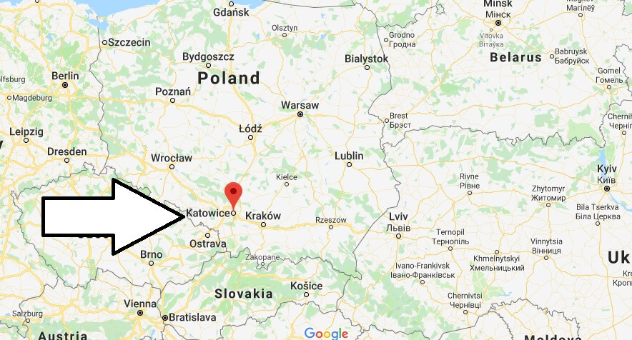 Where is Katowice Located? What Country is Katowice in? Katowice Map