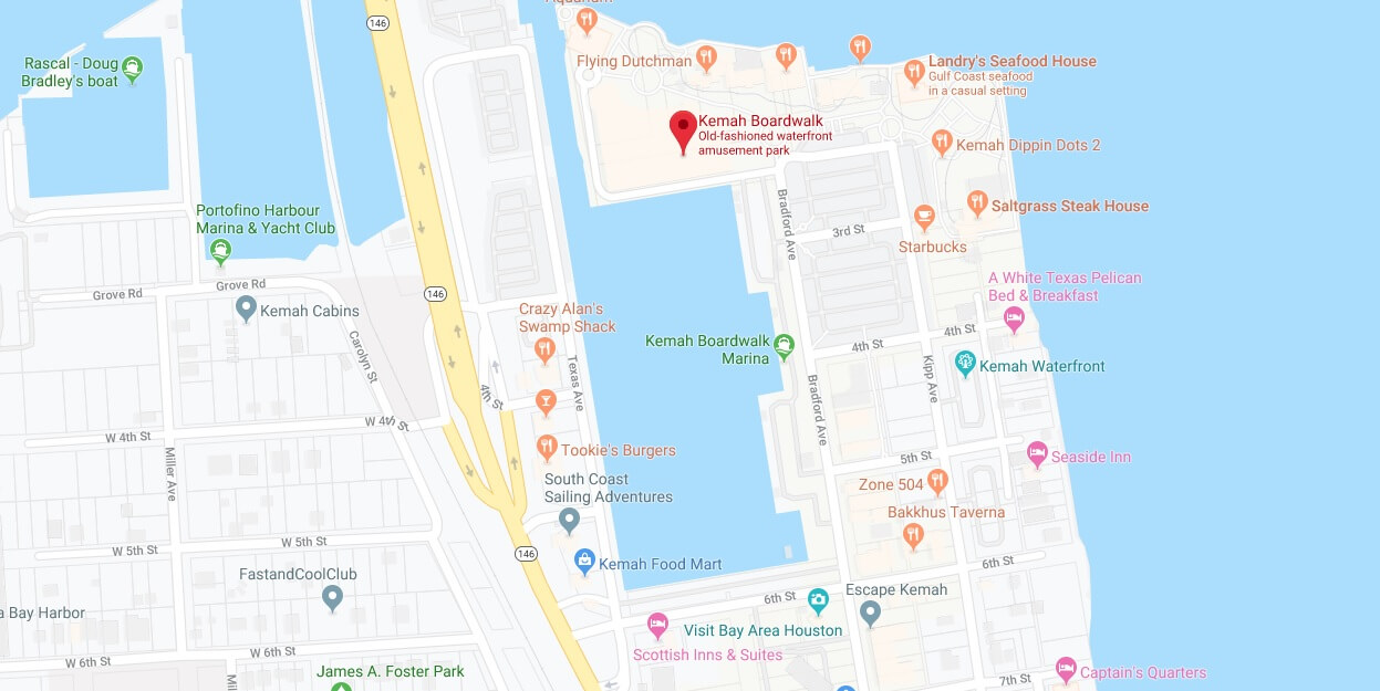 Where is Kemah Boardwalk Located Prices,Tickets, Hours, Map