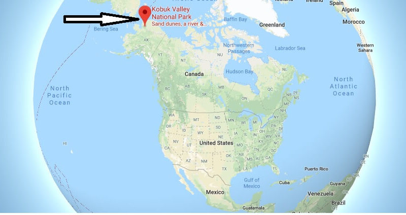 Where is Kobuk Valley National Park? What city is Kobuk Valley? How do I get to Kobuk Valley