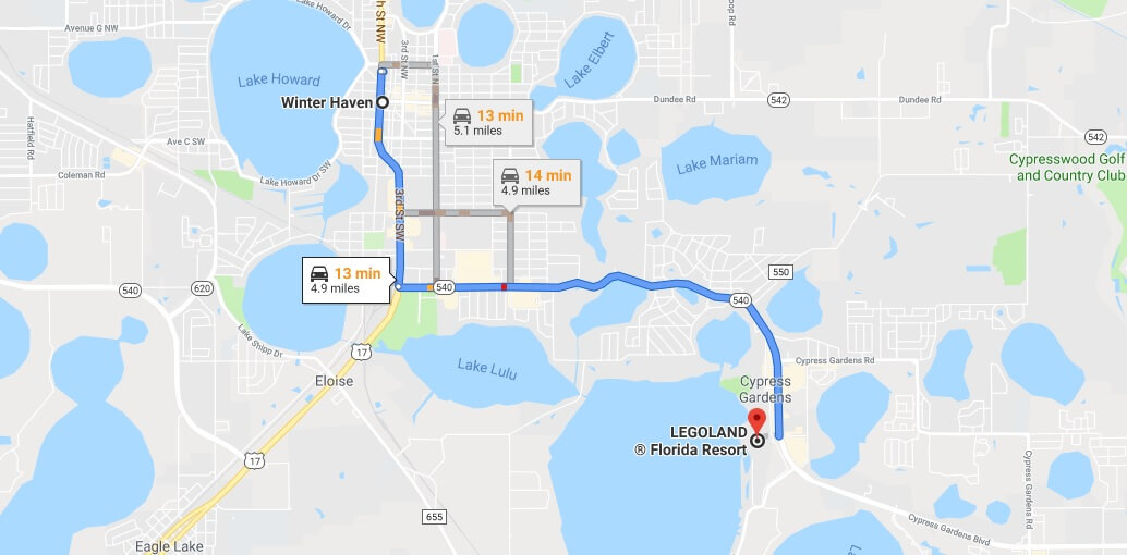 Where is LEGOLAND Florida Located Prices,Tickets, Hours, Map
