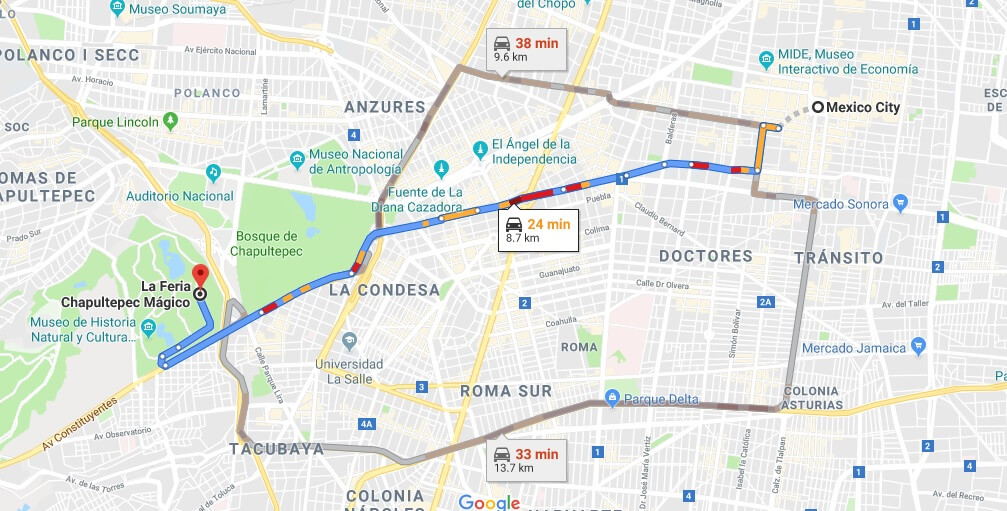 Where is La Feria Chapultepec Mágico Located Prices,Tickets, Hours, Map