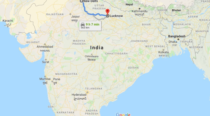 Where is Lucknow Located? What Country is Lucknow in? Lucknow Map