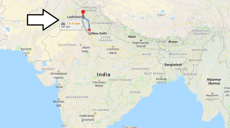 Where is Ludhiana Located? What Country is Ludhiana in? Ludhiana Map